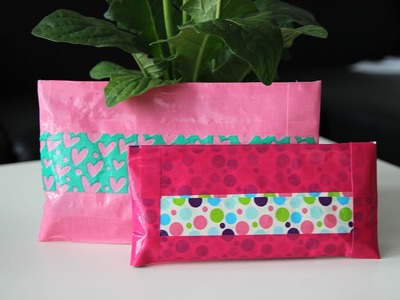 Duct Tape etui maken DIY - Back to school