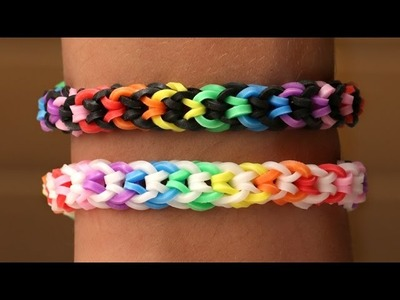 Rainbow Loom Nederlands - Inverted Fishtail || Loom bands, rainbow loom, tutorial, how to