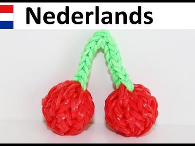 Rainbow Loom Nederlands. loom bands : KERSEN Monstertail en Loom (Eveline Maureen + DIY Mommy)