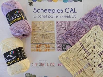 Week 10 Scheepjes CAL 2014 - Nederlands. Dutch