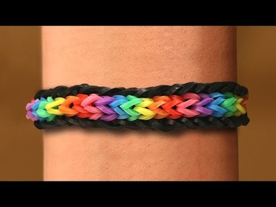 Rainbow Loom Nederlands - Unicorn Armband || Loom bands, rainbow loom, tutorial, how to