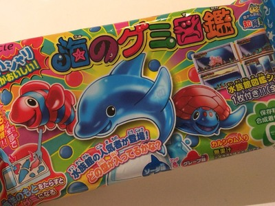 DIY: Japans snoep maken, Popin Cookin Sea Animals