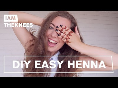DIY Easy Henna | ♥ iamtheknees