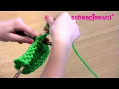Leren Breien - Averecht breien - Leer breien met Scheepjeswol