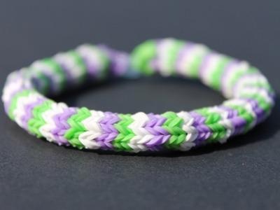 Rainbow loom Nederlands, Hexafish armband