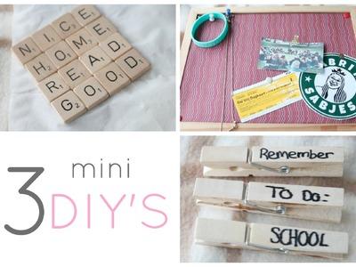 Mini DIY's