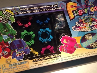 Rainbow Loom Nederlands, winactie Fingerloom party pakket, Gesloten