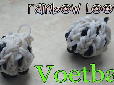 Rainbow Loom Nederlands Wk 3d Voetbal Fussbal, Leuk Holland hanger op de monstertail