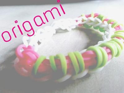 Rainbow loom Nederlands, Origami armband