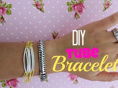 DIY Tube Bracelet ♥ MADEBYNoelle