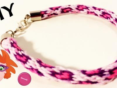 DIY: braided hearts bracelet - vriendschapsarmbandje met hartjes