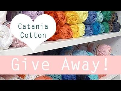 Give Away haakpakket Catania katoen crochet (inschrijven tot en met 29 november 2014)