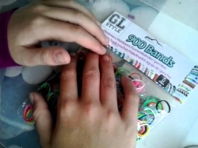 Shoplog Rainbow Loom + make-up tip ♥