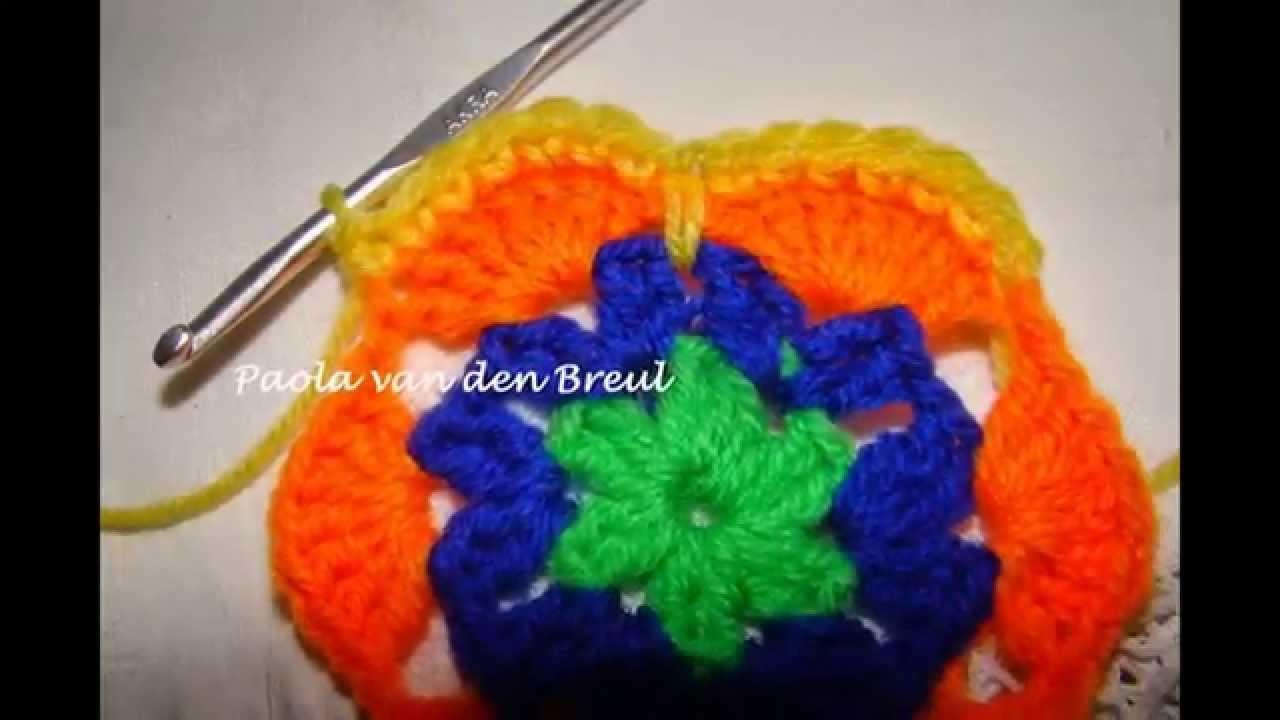 African Flower Haken Crochet