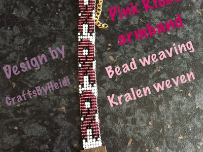 DIY: BEAD WEAVING. KRALEN WEVEN