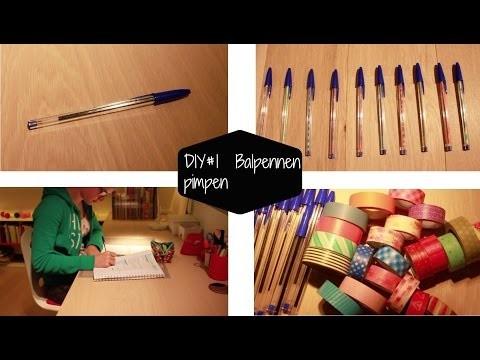 DIY #1 Balpennen pimpen