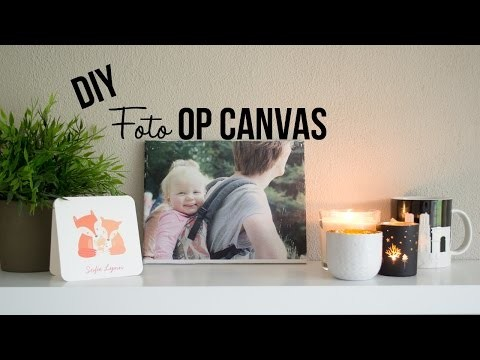 DIY | Foto op canvas - LFR
