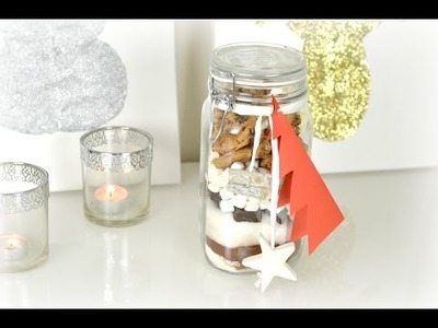 DIY Holiday Gift | Brownie In A Jar