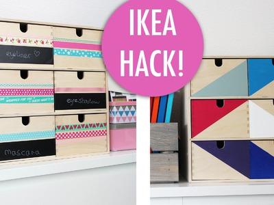 Cadeaus maken - IKEA HACK Moppe kastje versieren DIY