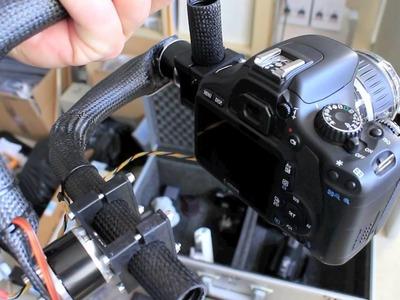 Brushless Gimbal DSLR, klaar voor onder de kopter
