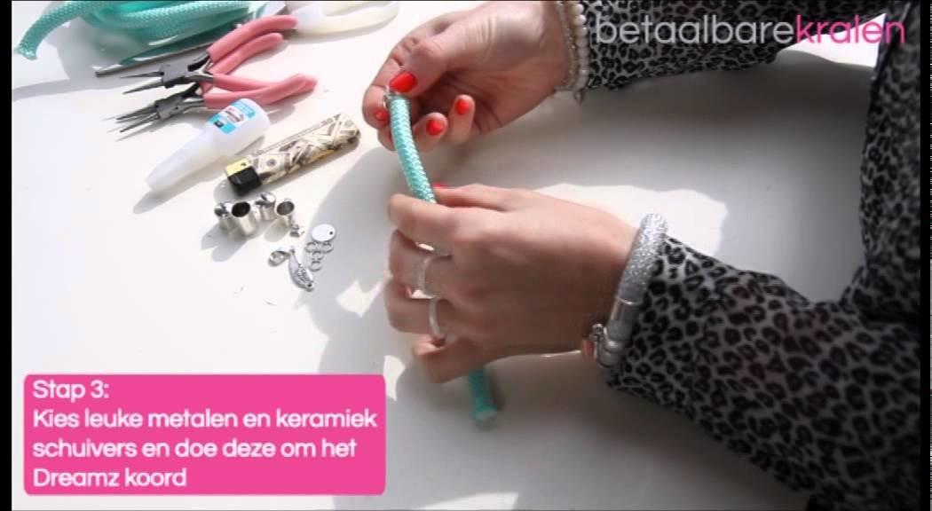 DIY: Hoe maakt u een Dreamz armband van Dreamz Jewels?
