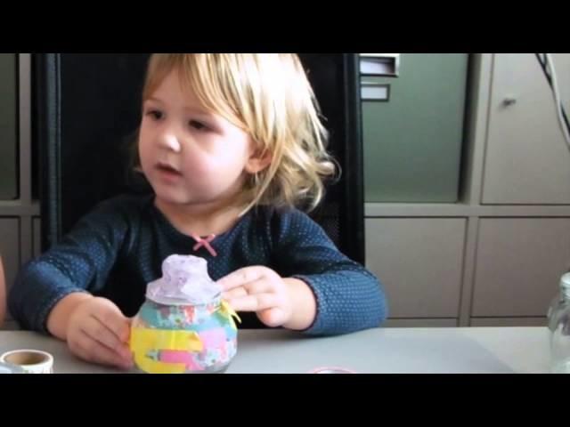 Kids Craft #1 Glazen potjes versieren (Dutch)