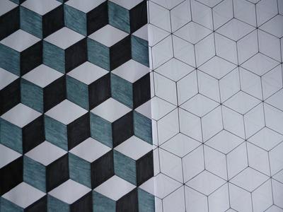 DIY Cube Pattern