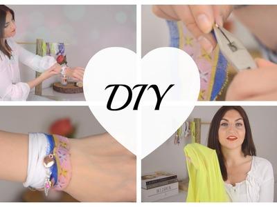 DIY T-Shirt Bracelet   Lifestyleandglamour