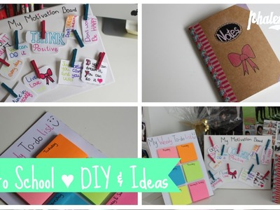 Back to School ♥ DIY & Ideas