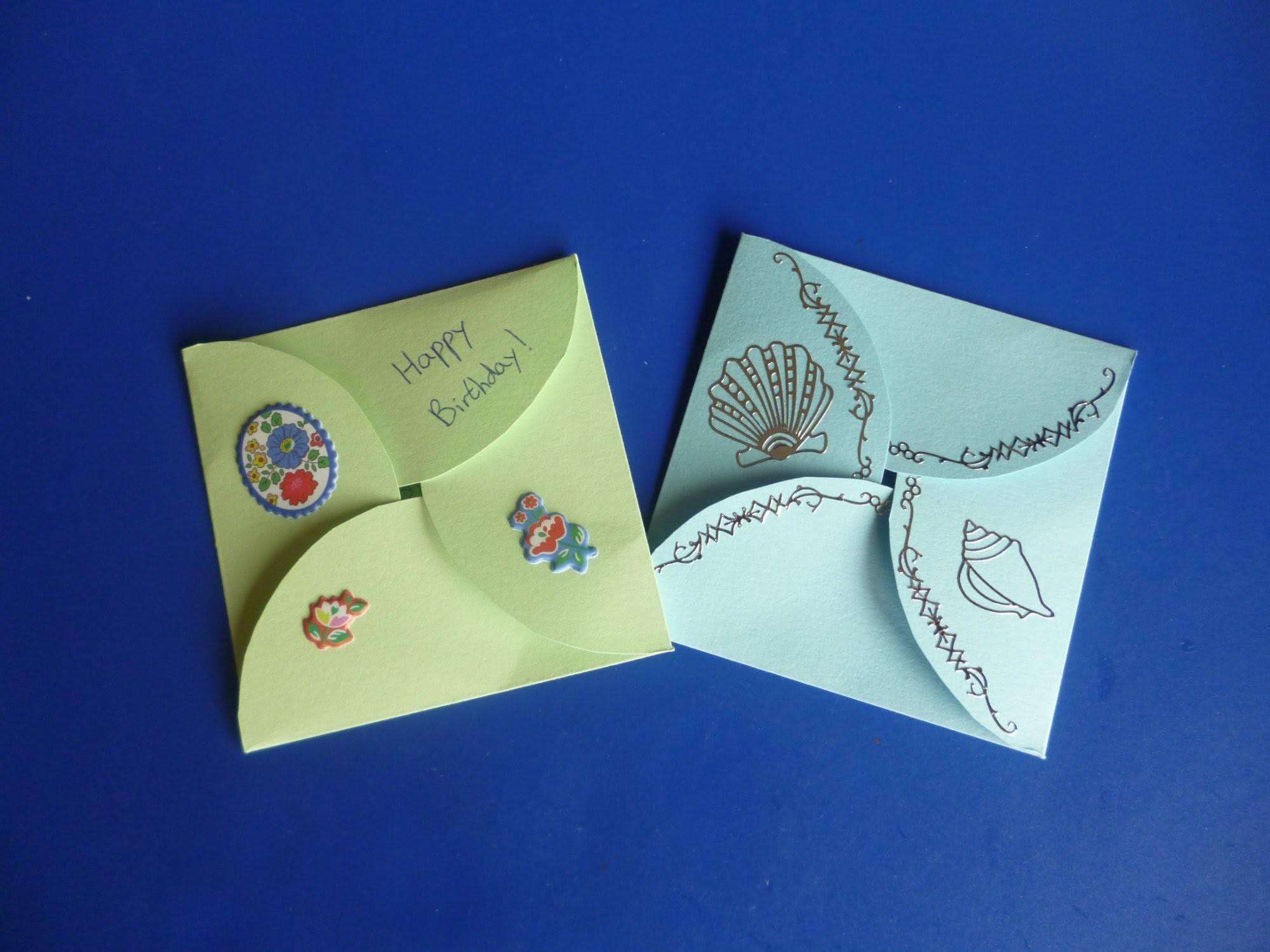 DIY Envelope Card