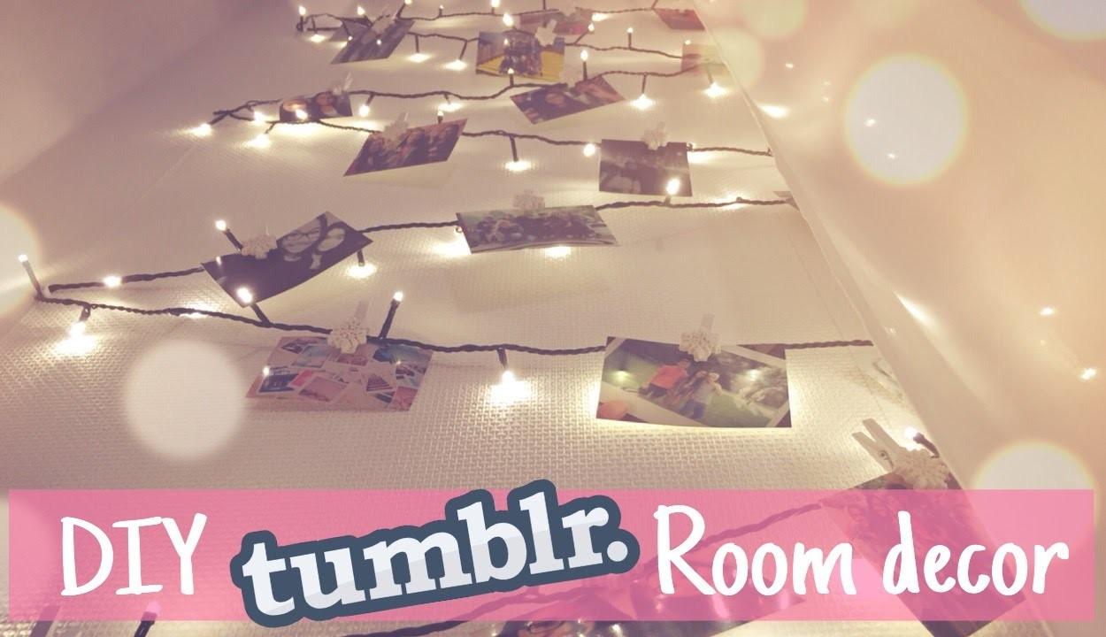 DIY Tumblr Room Decor