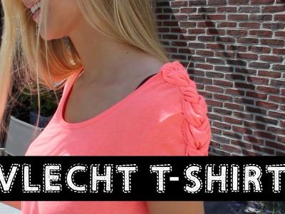 DIY Vlecht T- Shirt ♥ MADEBY Noelle