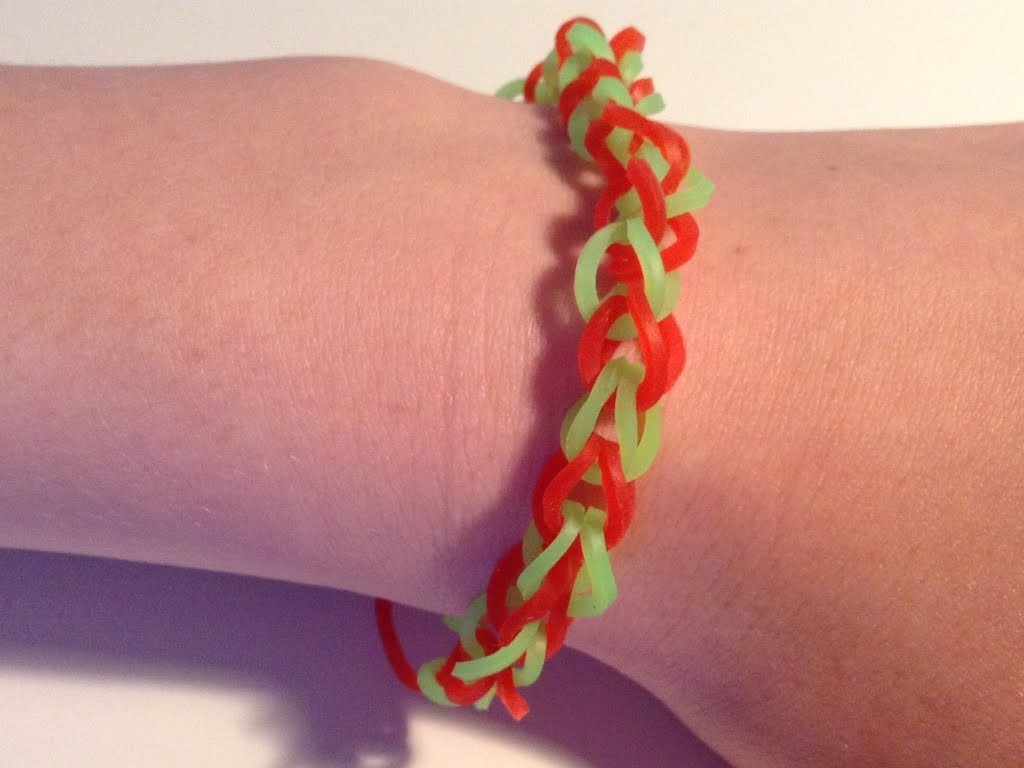 Rainbow loom Nederlands, basis armbandje