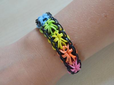 Rainbow Loom | Starburst Armband.Bracelet | Nederlands