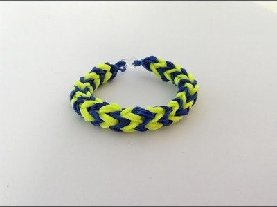 Rainbow loom, New Forest, armband