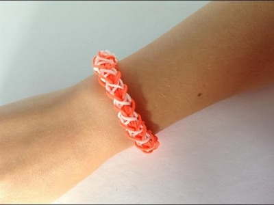 Rainbow loom Nederlands, triple twice, armband