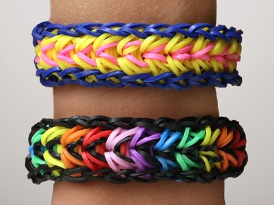 Rainbow Loom Nederlands   Feather Armband    Loom bands, rainbow loom, tutorial, how to