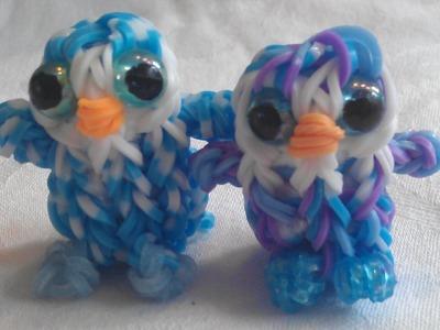 "Rainbow Loom Nederlands: Ty Beanie Boo knuffel ""Ice cube"" 3D (original design)"