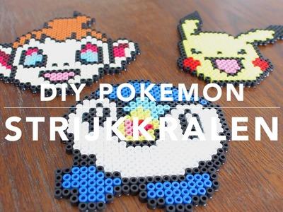 DIY Iron beads|  Pokemon thee onderzetter strijkkralen