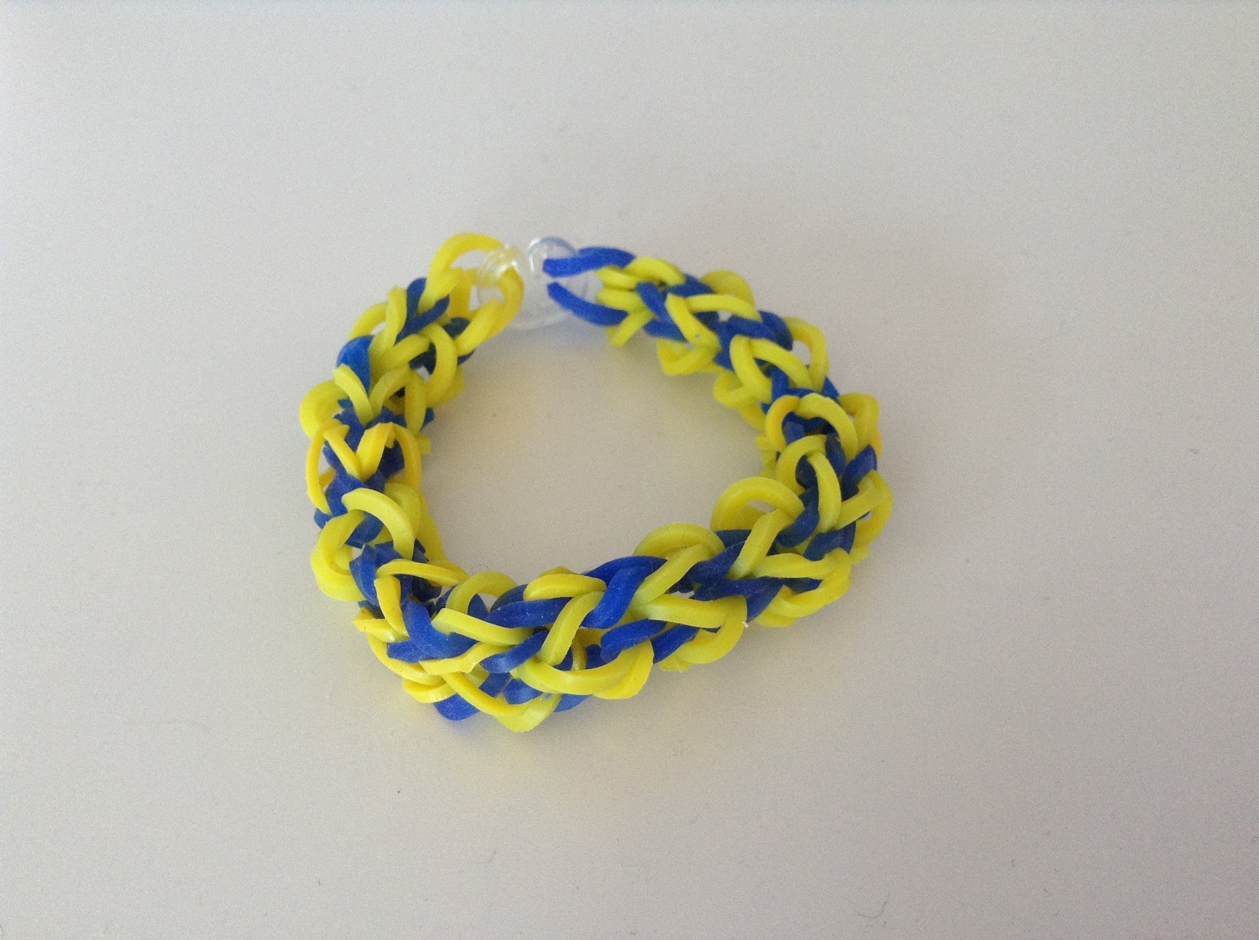 Rainbow loom Nederlands, twist square armband