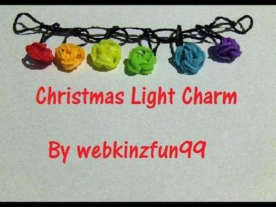 Rainbow Loom Nederlands | Christmas Lights Charm
