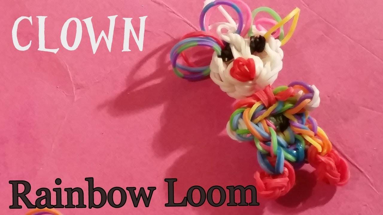 Rainbow Loom Nederlands Clown Hangertje Nederlandse Diy regenboog loom