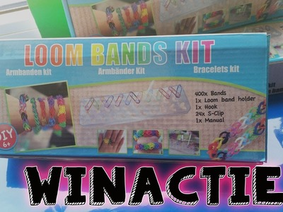 GESLOTEN!!! ACTION diy Rainbow LOOM BANDS KIT Review en WINACTIE Nederlands