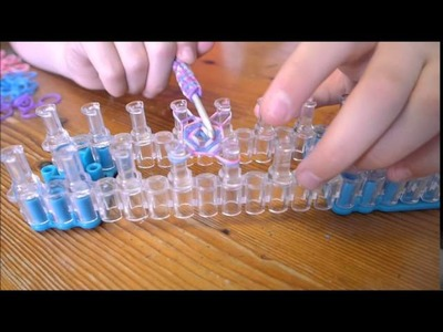 Hoe maak je een Hexafish met Rainbow Loom Bands. Taal Nederlands.