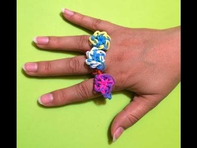 Hoe maak je een ring met Rainbow Loom bandjes en een haakpen? Leer het met Juf Jannie!