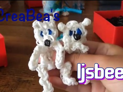 Rainbow loom Nederlands ❤️ ijsbeer (original design)