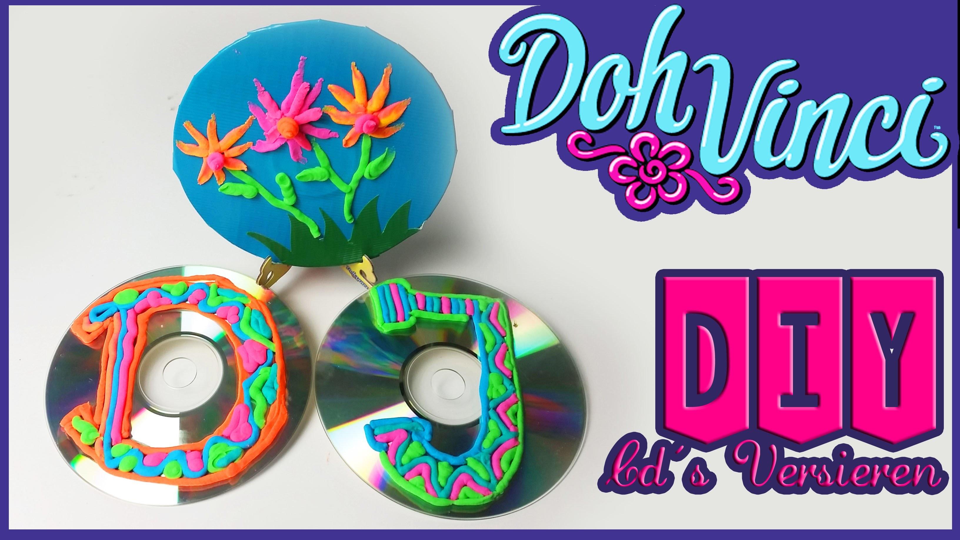 CREATIEF MET DOHVINCI | CD'S VERSIEREN MET DECOPOPS EN DUCK TAPE