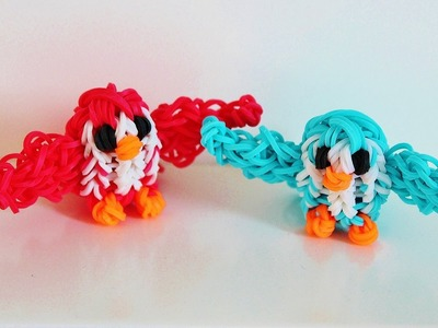 Rainbow Loom Nederlands   Loom Bands 3d vogeltje Eveline Maureen + DIY Mommy