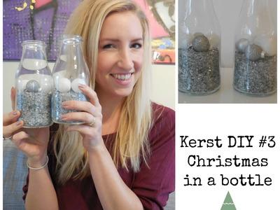 Snelle simpele kerst DIY #3: A bottle of Christmas