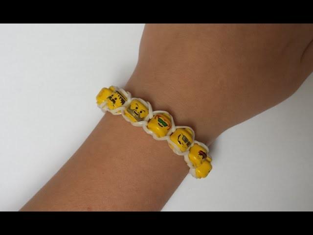 Rainbow Loom LEGO Armband door LoomHeroes